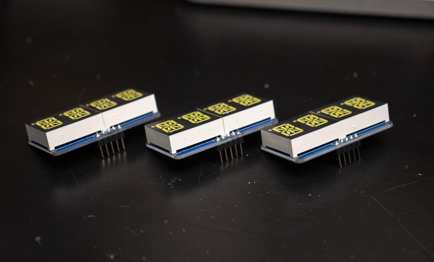 Assemble Alphanumeric Displays