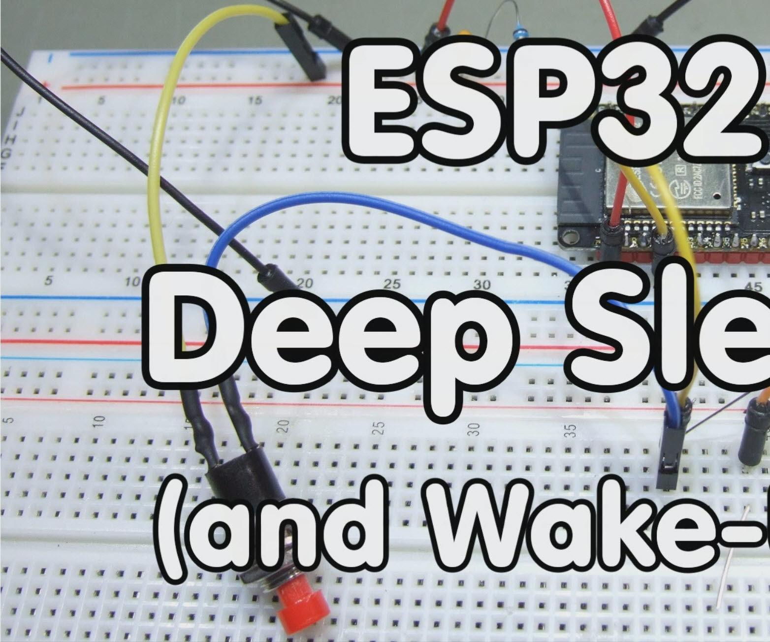 ESP32 Deep-Sleep