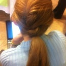 How To Do A French Twist Ponytail