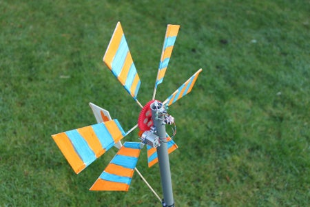 Mass Producing LED Powering Wind Turbines in a Kids Workshop