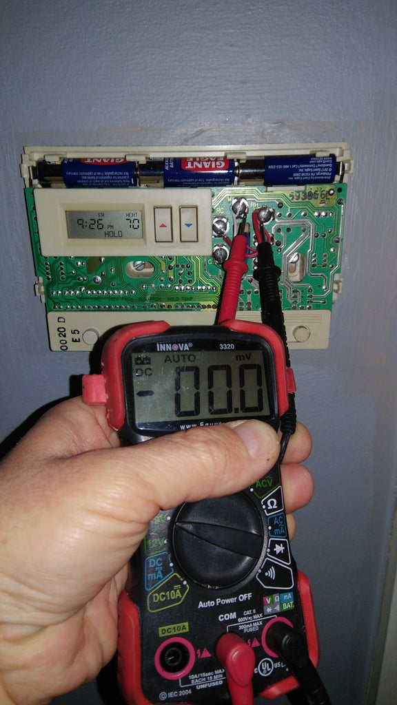 Ensure Power Is Off at Thermostat