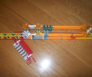Unnamed Knex Shotgun Secondary and Pocket Size Sidearm