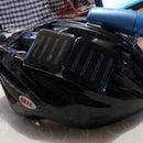 Solar Cooling System For Helmets