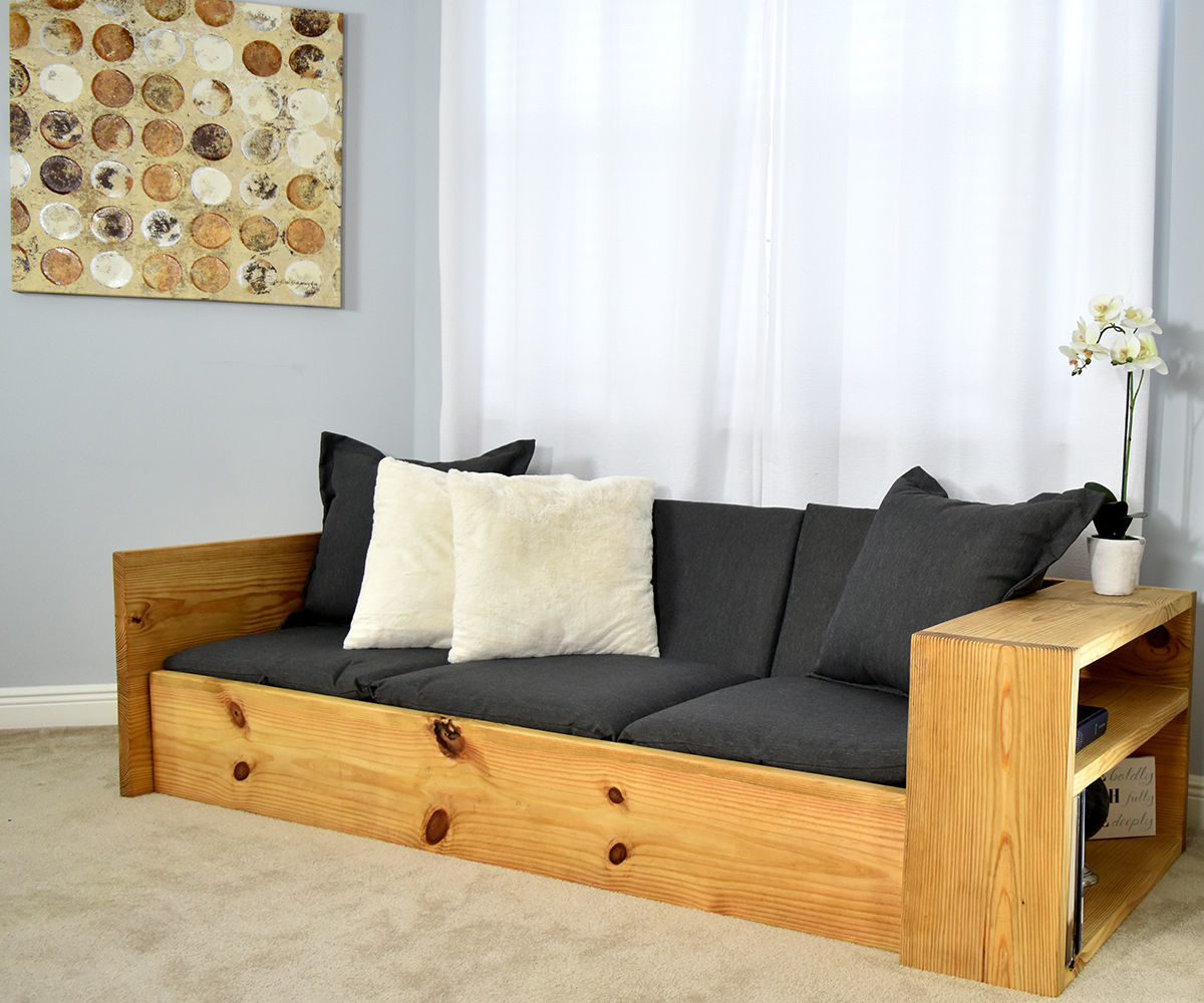 Picture of: How To Make A Sofa That Turns Into A Bed 10 Steps With Pictures Instructables