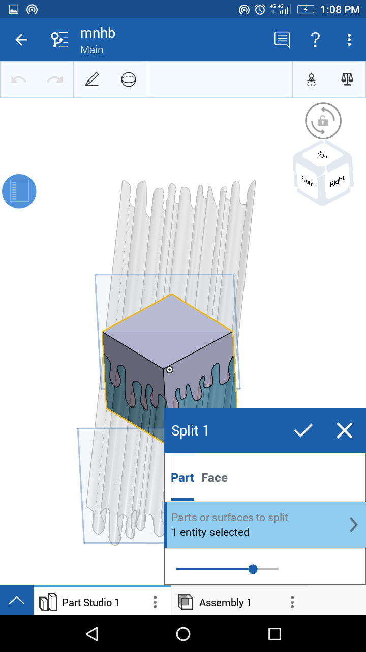 Splitting the Cube