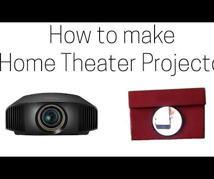 How to make Home Theater Projector - Turn your Smartphone to Projector