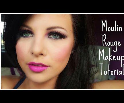 Moulin Rouge Makeup Look
