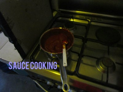 Making the Pizza Sauce