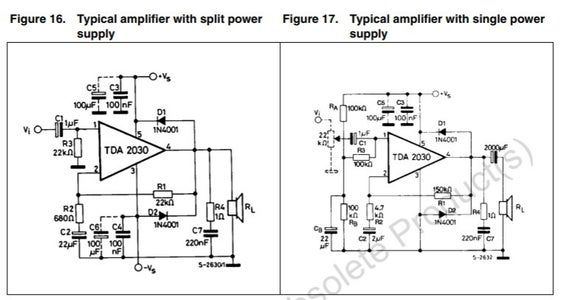 Stereo Amplifier Circuit