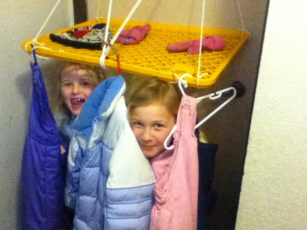 Winter Clothes Drying Rack