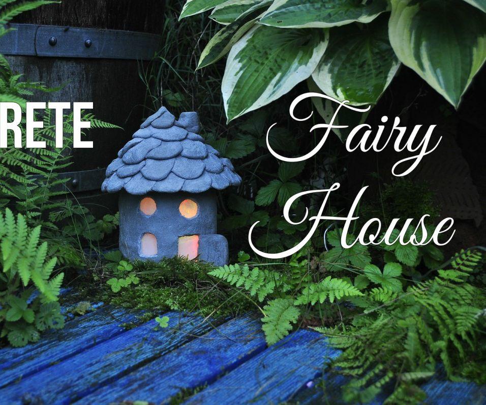 cement fairyhouse