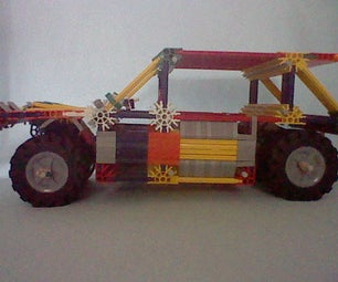 Knex Lancia Rally Car Instructions. Easy to Build.