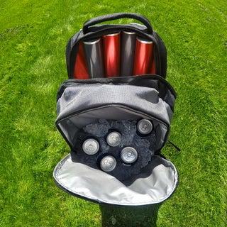 Portable Beer Frisbee Poles
