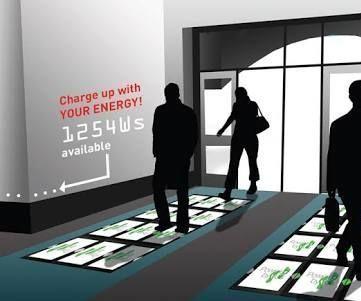 Piezo Tiles -Generate Electricity By Walking