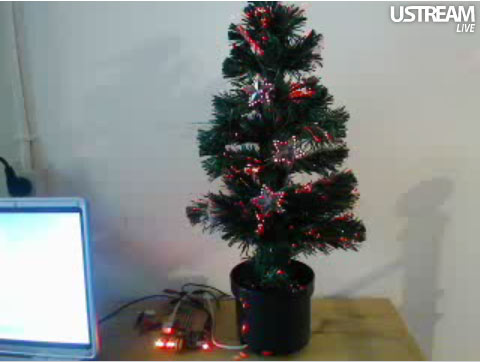@tweet_tree: Twitter controlled Christmas tree