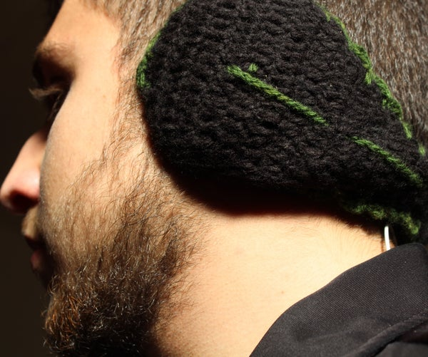 Knitted Ears Warmer