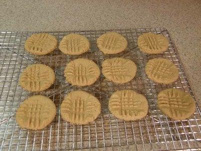 Gluten Free, Dairy Free, Easy Peanut Butter Cookies