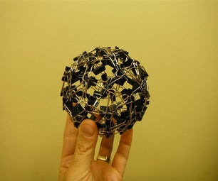 Binder Clip Ball