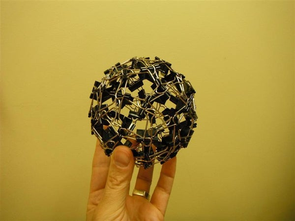 Binder Clip Ball