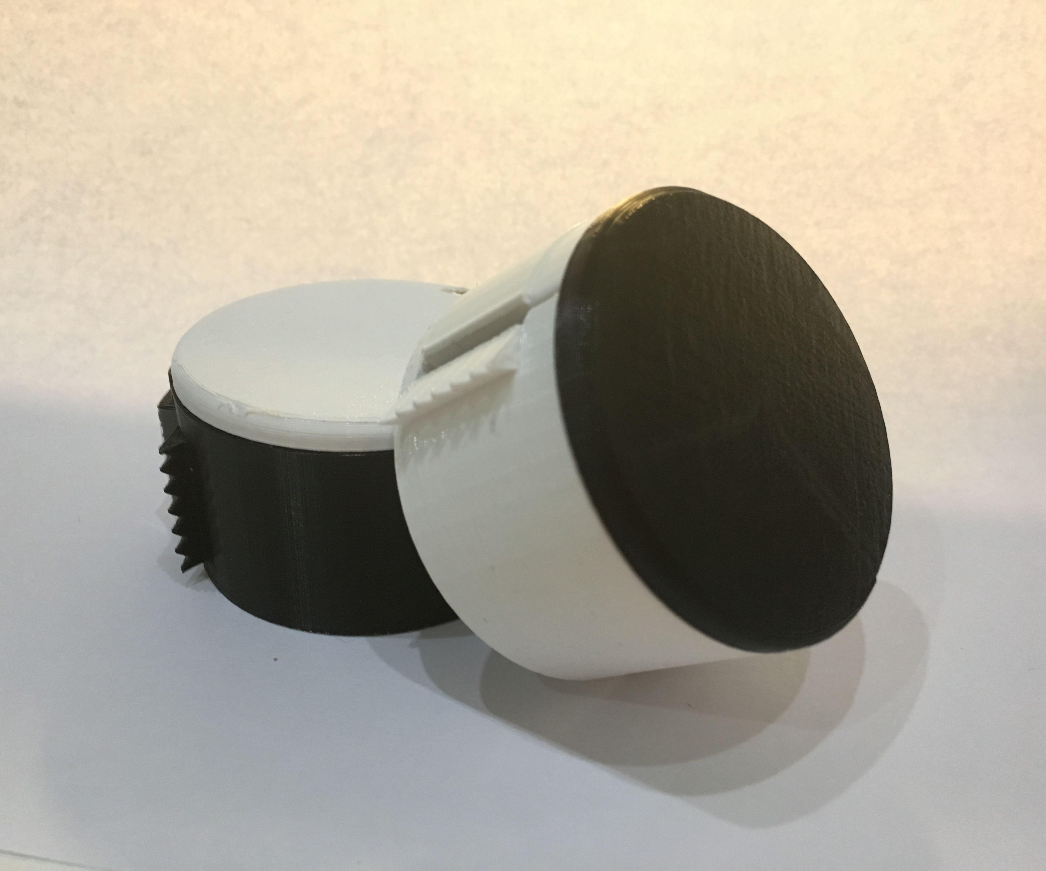 Portable Keychain Tape Dispenser
