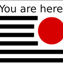 """""""You Are Here"""" Bookmark"""