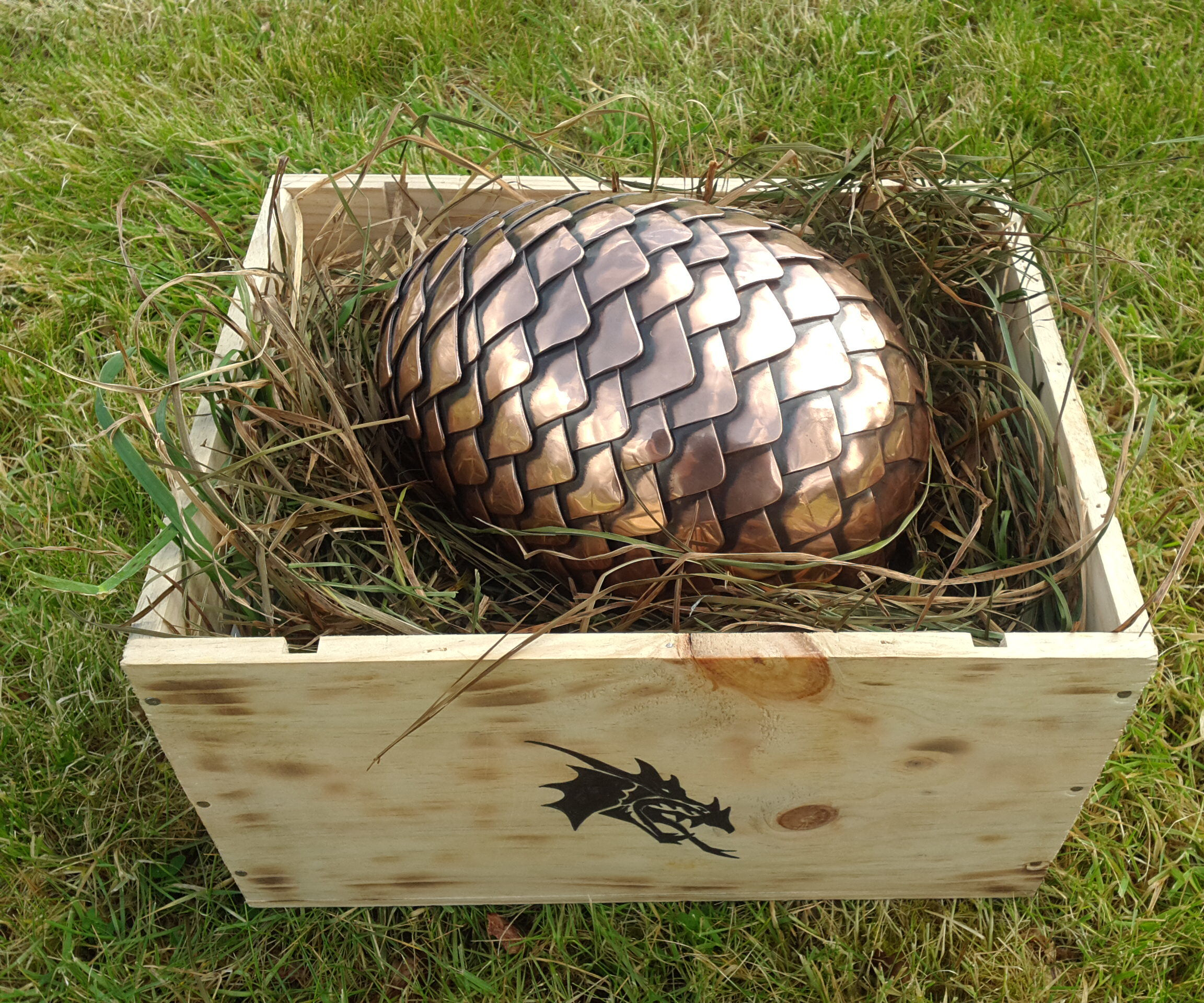 Copper Dragon Egg