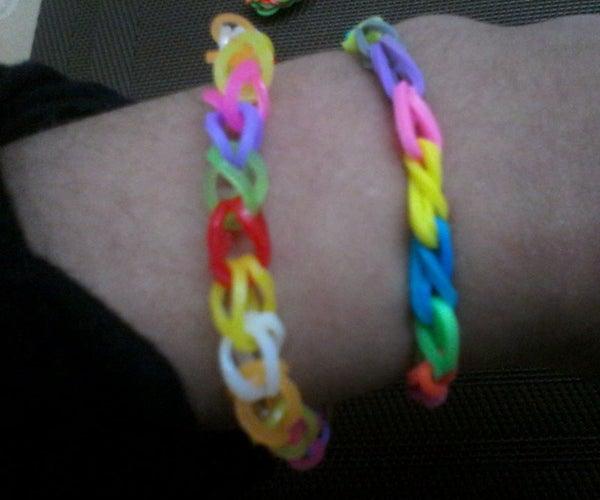 Rainbow Loom:Single Loop Bracelet