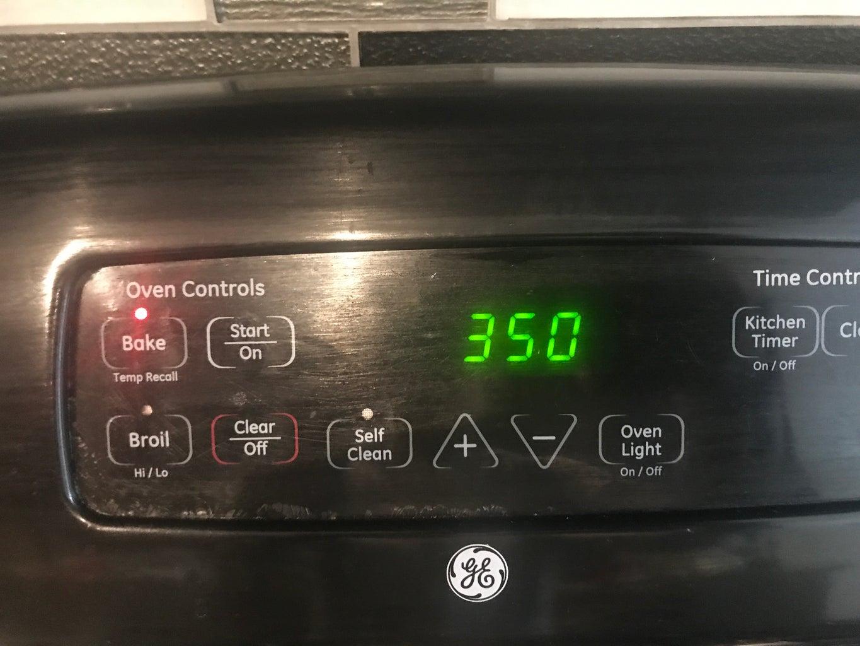Pre Heat Oven
