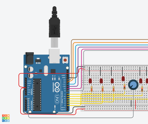 LED Engine on Tinkercad