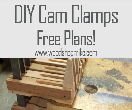 DIY Woodworking Cam Clamps & Plans!