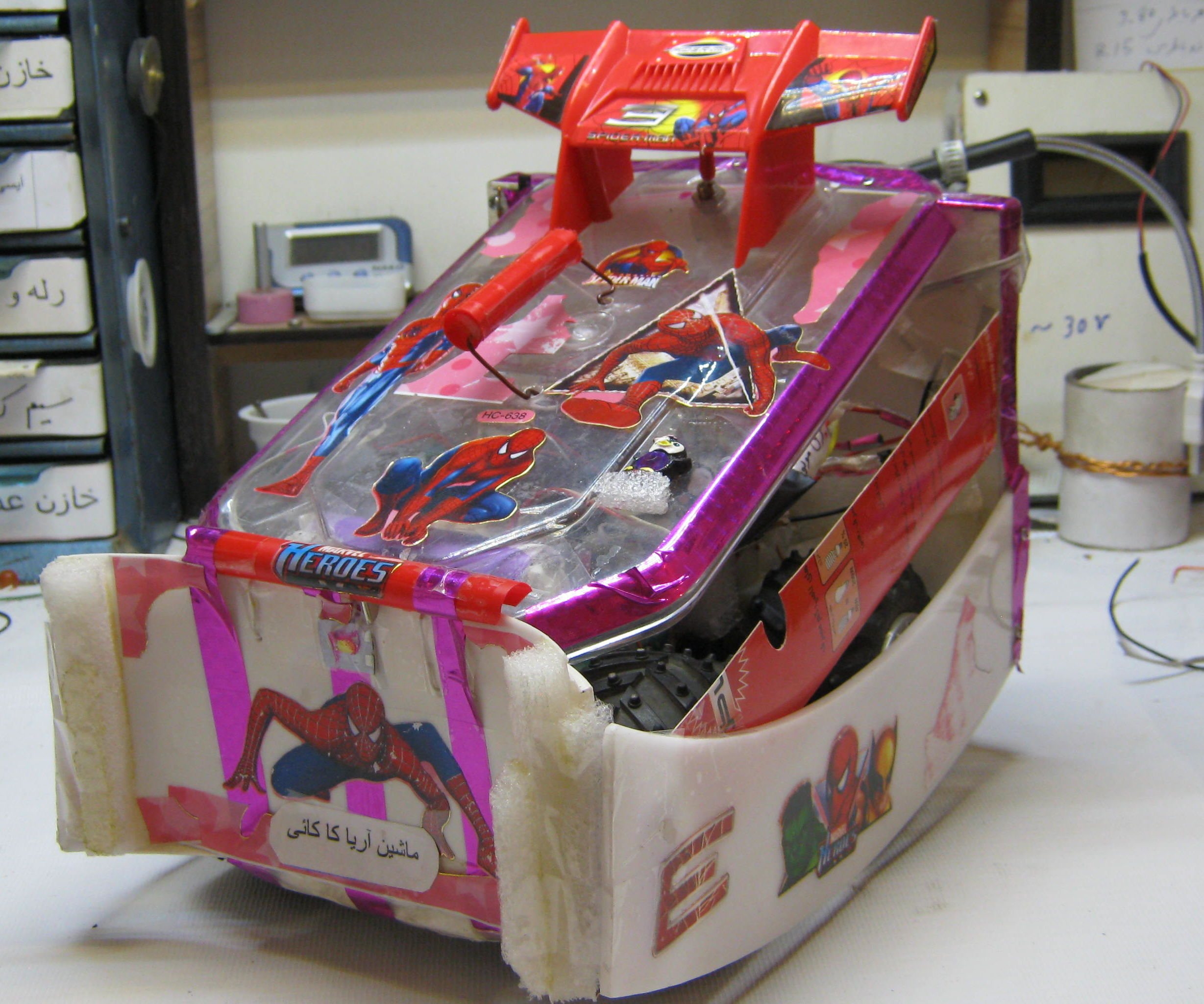 I Made This Car Radio Control With Waste