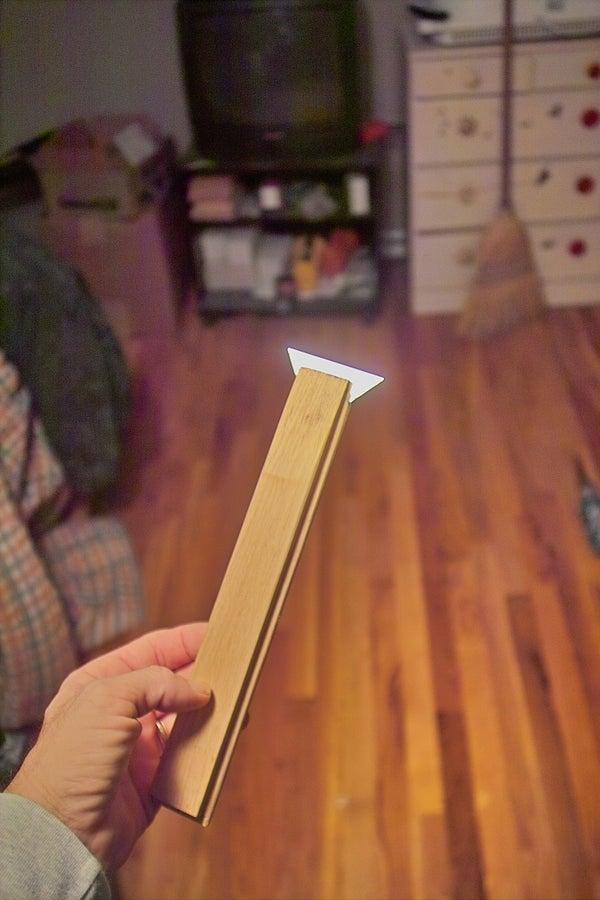 Make a Handy Razor Blade Scraper From a Scrap of Wood