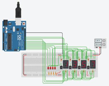7-segment Display Multiplexing
