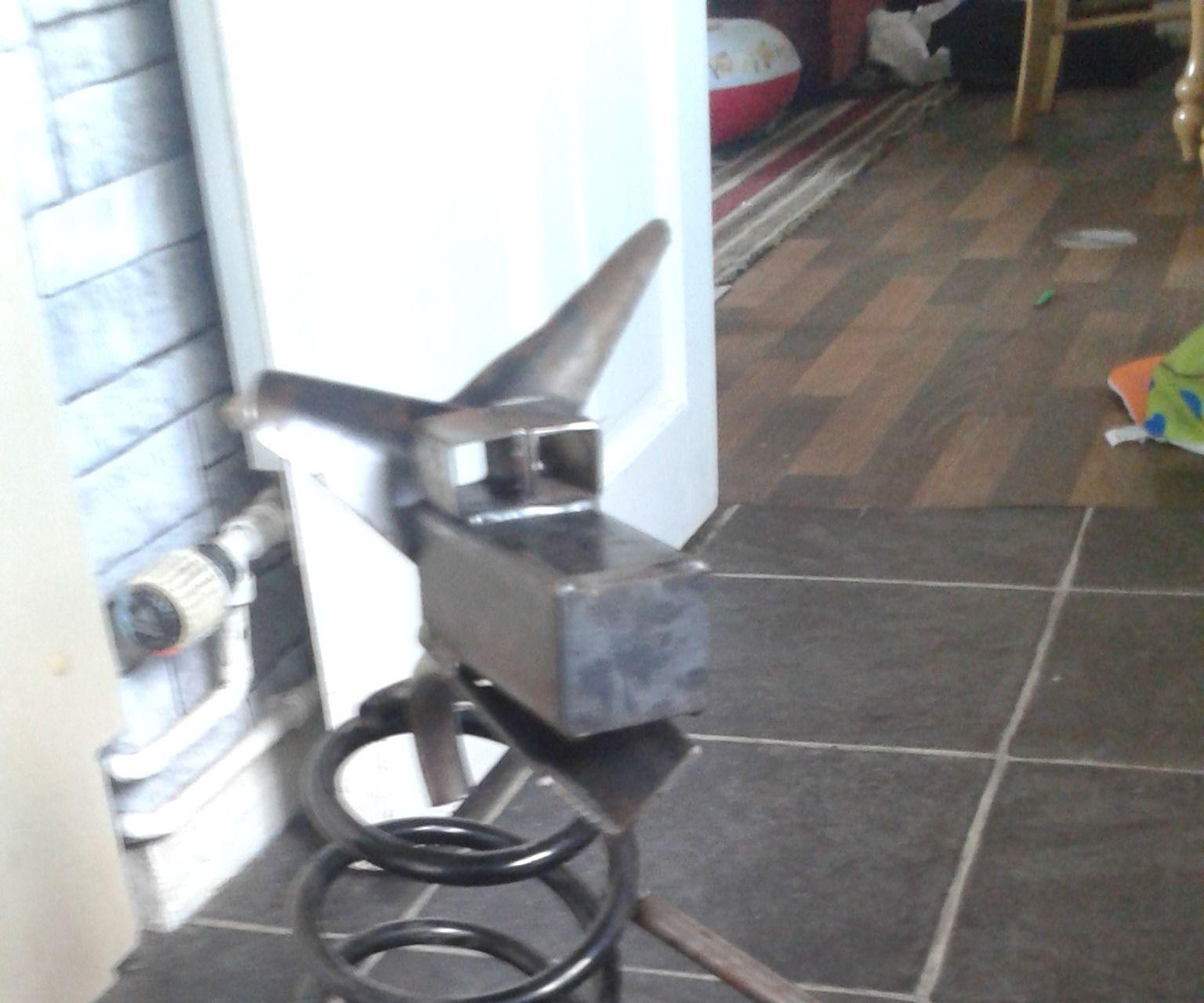 Scrap Metal Dog Sculpture