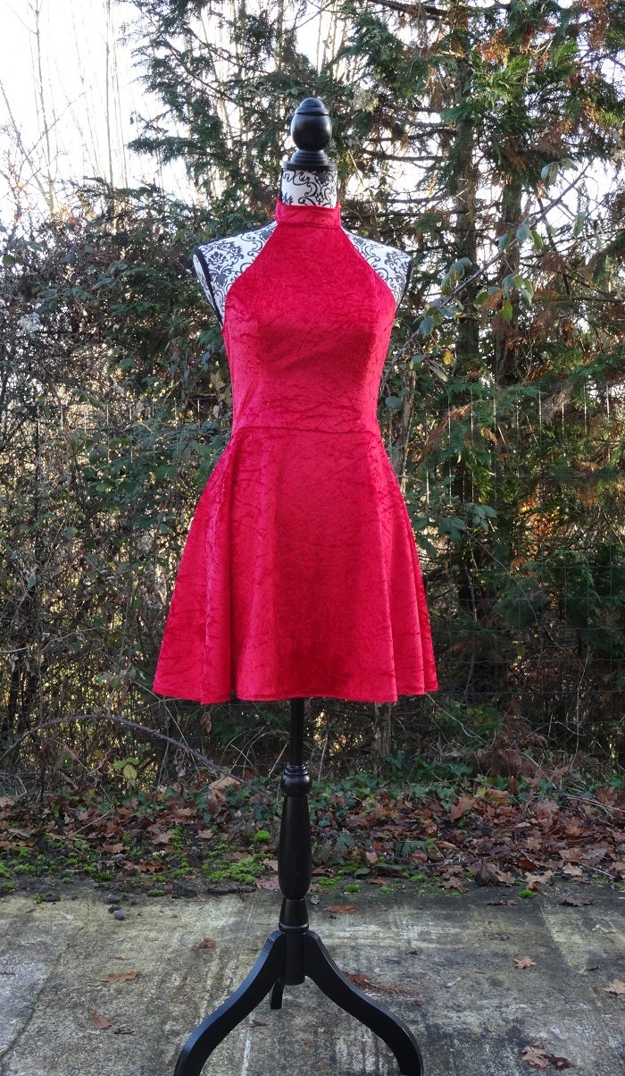 Finish Dress