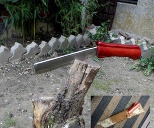 Old File to Wood Splitter