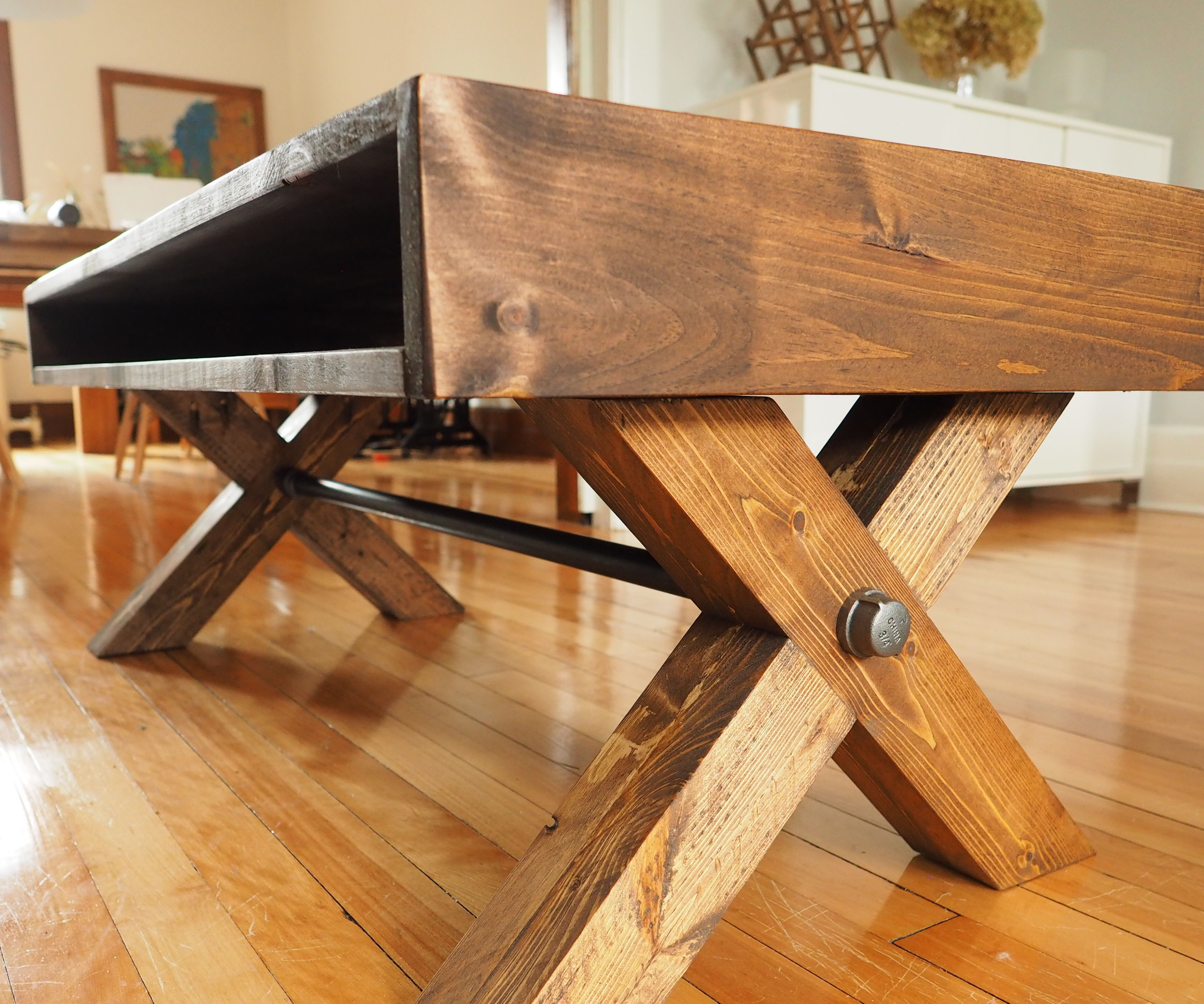 X Leg Coffee Table 9 Steps With Pictures Instructables