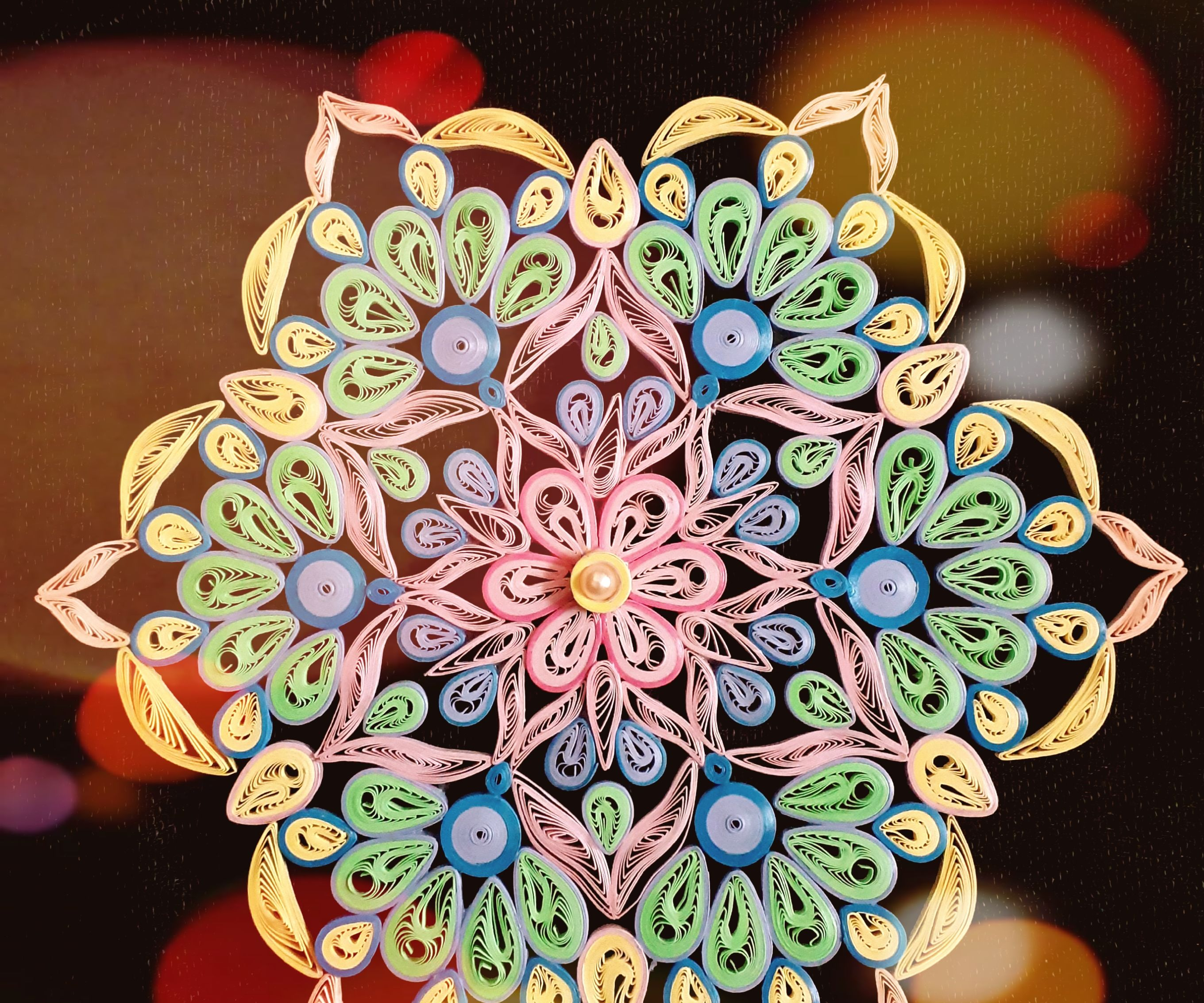 Quilling Stress Relief Mandala