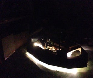 Underlight Your Dalek (or Other Project)