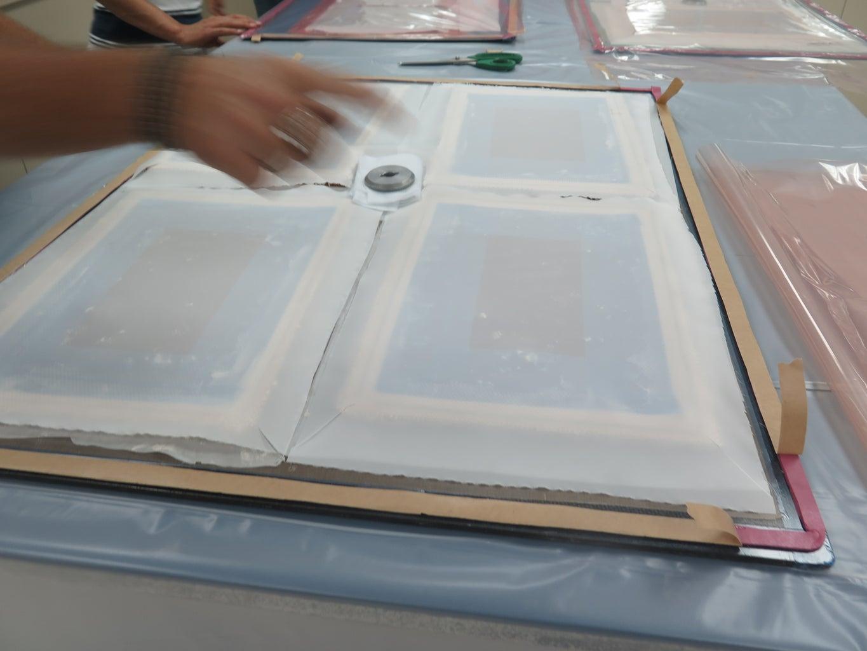 Mold Core Prep - Vacuum Bag 6