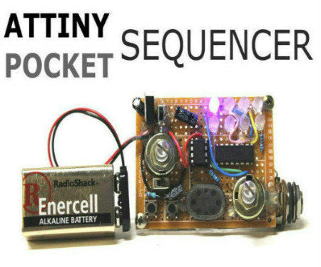 Attiny Pocket Sequencer