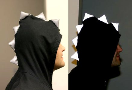 Reflective Dino Hoodie