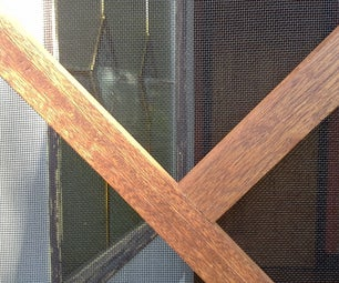 Screen Door From Reclaimed Door Jambs