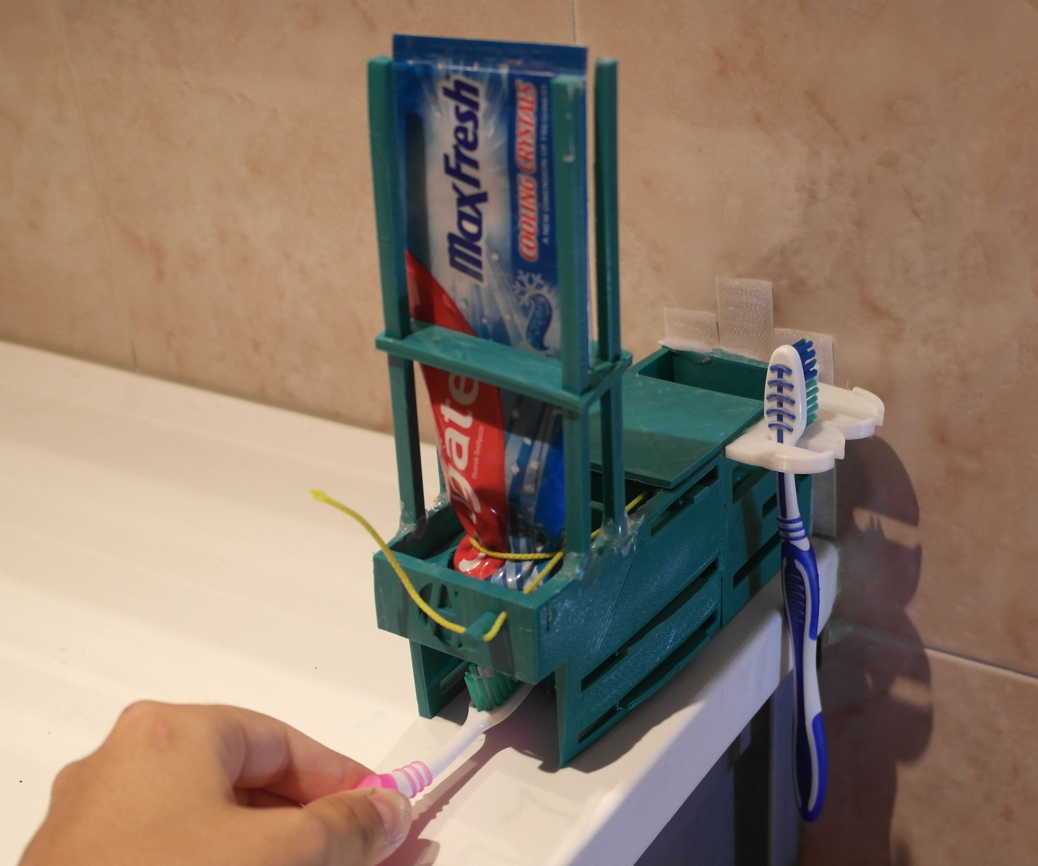 Make Your Own Toothpaste Dispenser.