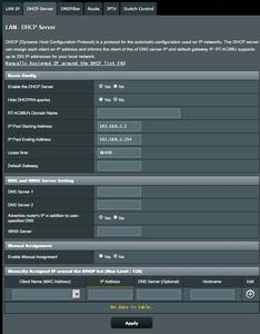 LAN Setup & IPv6 & Firewall
