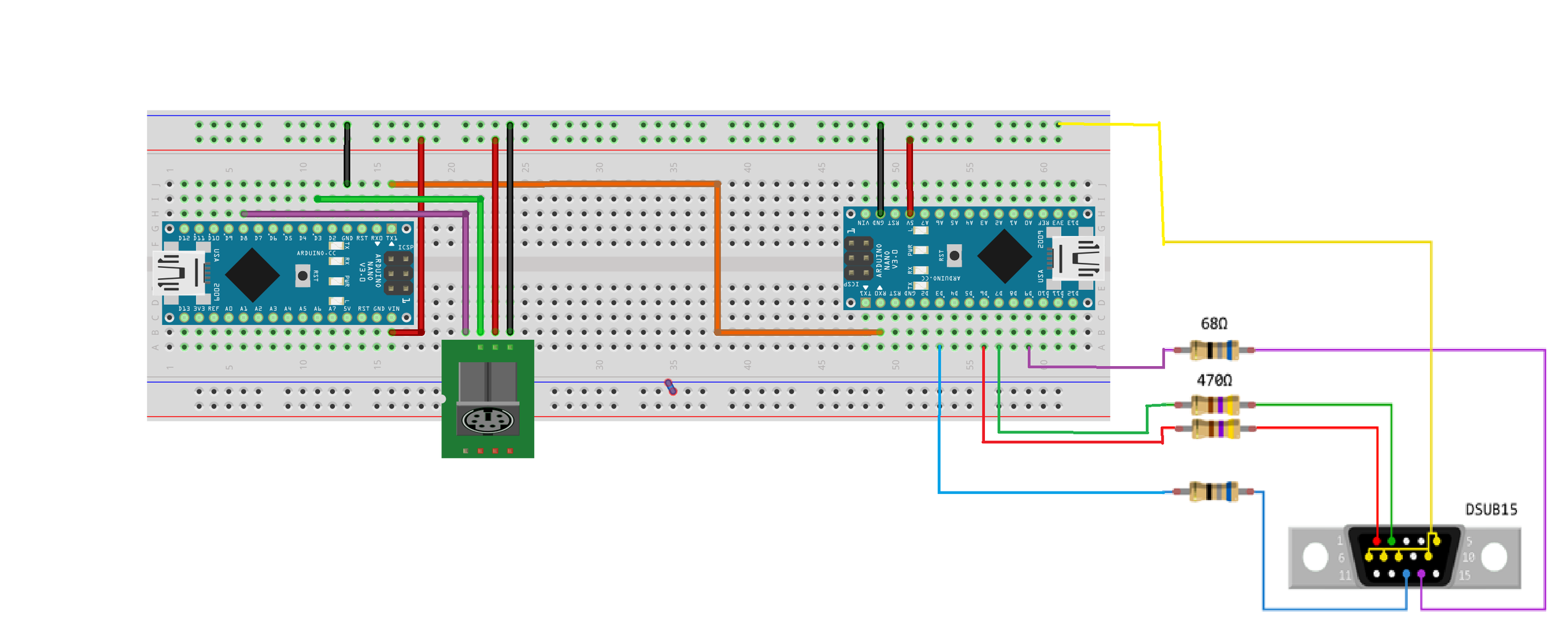 Upload the VGAx Library and Code on the Second Arduino and Put Everything Together