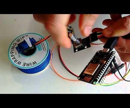 ESP8266 and Visuino: Control Servo Remotely Over Wi-Fi With Rotary Encoder