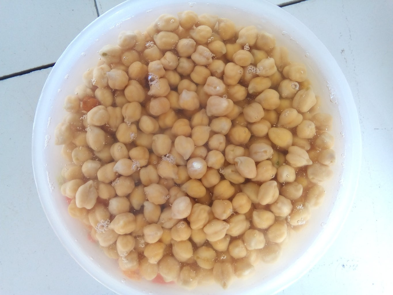 Topping: Chickpea