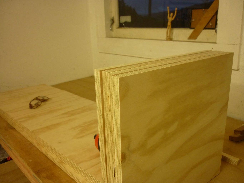 Cutting the Internal Uprights