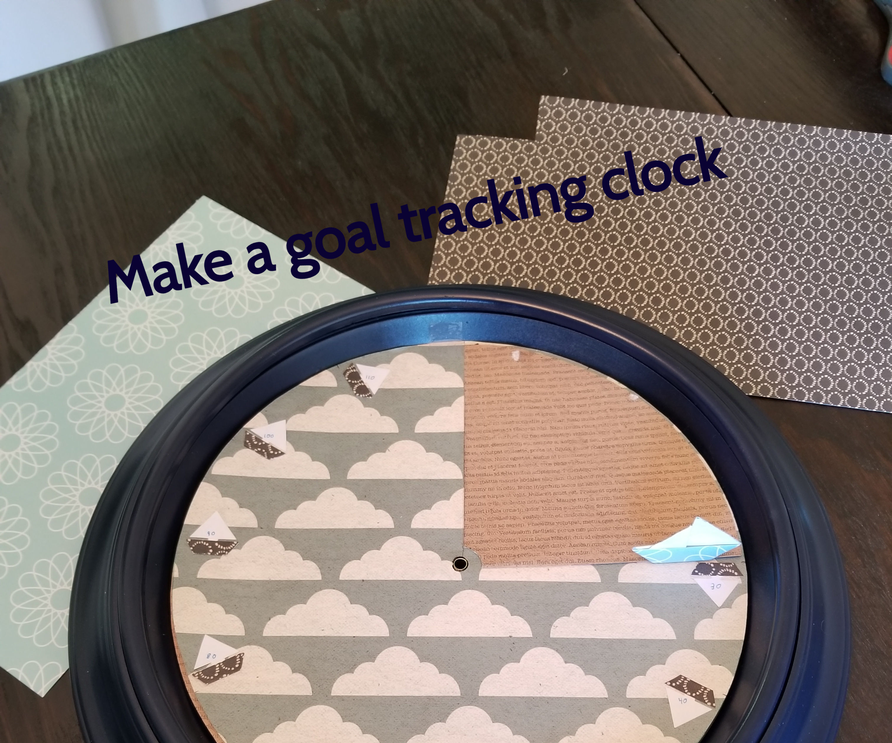 How to Make the Goal Clock for Under 10$